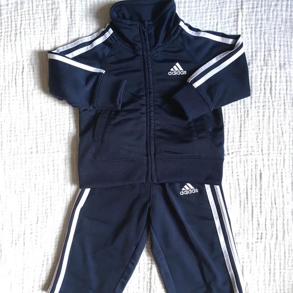 fashion popular stores wholesale sales Adidas Navy Blue Tracksuit